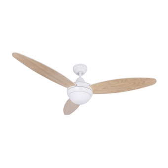 таванен вентилатор, white, globo, cordula, 2x40w, 3 степени на работа, 03612