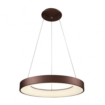 метален пендел, coffee/white, luxera, gentis, led 40w, 4000k, 2400lm, 18405