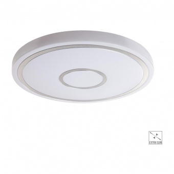 led плафон, white/chrome, prezent, mistral, led 36w, 4000k, 4000lm, 71302