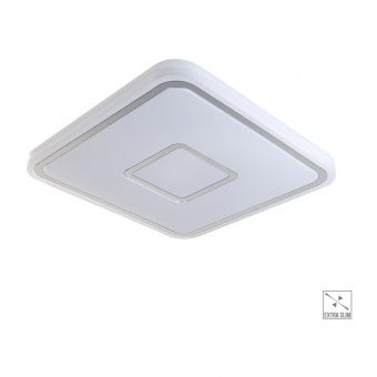 led плафон, white/chrome, prezent, mistral, led 36w, 4000k, 4000lm, 71304