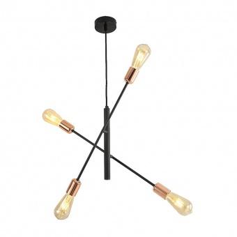метален полилей, black/copper, prezent, daria, 4x40w, 75563