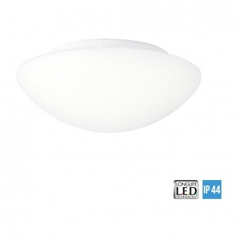 стъклен плафон, white/opal, prezent, aspen led, led 12w, 4000k, 732lm, 45138