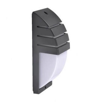 метално градинско тяло, dark grey/opal, prezent, samara, 1x40w, 31405