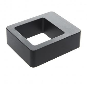 метален градински аплик, черен, elbulgaria, led 6w, 4000k, 2116 bk/6w