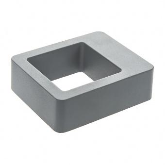 метален градински аплик, сив, elbulgaria, led 6w, 4000k, 2116 gy/6w