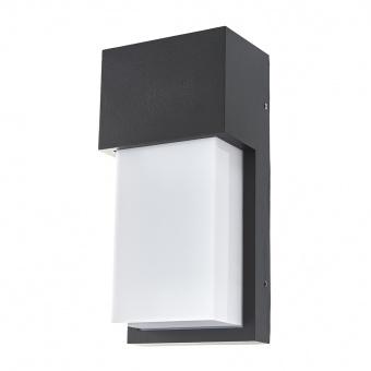 метален градински аплик, черен, elbulgaria, 1x28w, 2117 bk