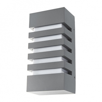 метален градински аплик, сив, elbulgaria, 1x28w, 2118 gy