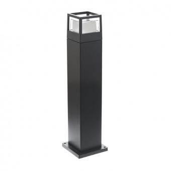 метално градинско тяло, черен, elbulgaria, led 7w, 4000k, 2122 bk/7w