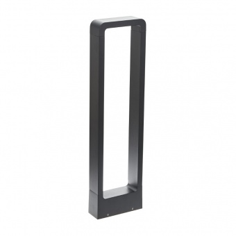 метално градинско тяло, черен, elbulgaria, led 7w, 4000k, 2123 bk/7w