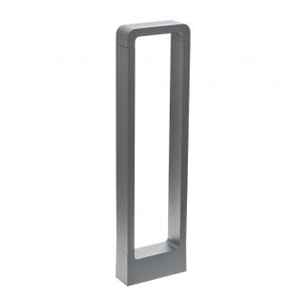 метално градинско тяло, сив, elbulgaria, led 7w, 4000k, 2123 gy/7w