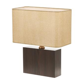 текстилна настолна лампа, крем, elbulgaria, 1x40w, 2065/b d331