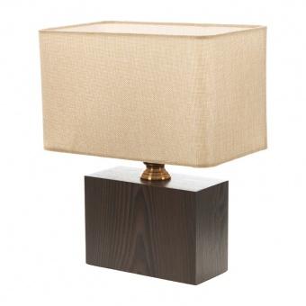 текстилна настолна лампа, крем, elbulgaria, 1x40w, 2065/m d331