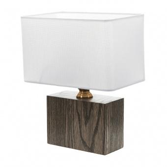 текстилна настолна лампа, бял, elbulgaria, 1x40w, 2065/m d337