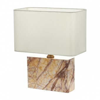 текстилна настолна лампа, крем, elbulgaria, 1x40w, 2068/b d338