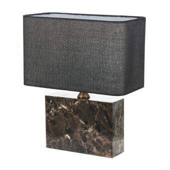 текстилна настолна лампа, черен, elbulgaria, 1x40w, 2068/b m022