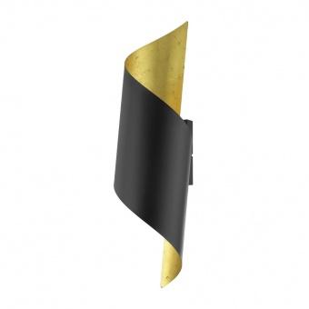 метален аплик, black, eglo, jabaloyas, 1x40w, 39654