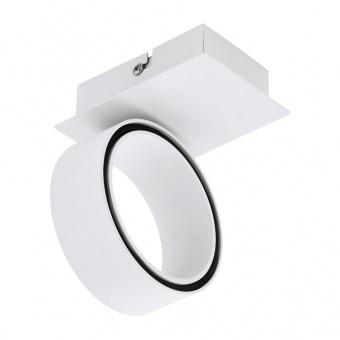 метален спот, white, eglo, albariza, led 1x5w, 3000k, 1x650lm, 39584