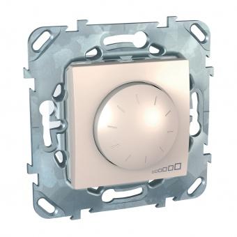 ротативен димер за led лампи 4-40w, слонова кост, schneider, unica, mgu5.513.25