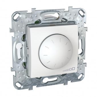 ротативен димер за led лампи 4-40w, бял, schneider, unica, mgu5.513.18