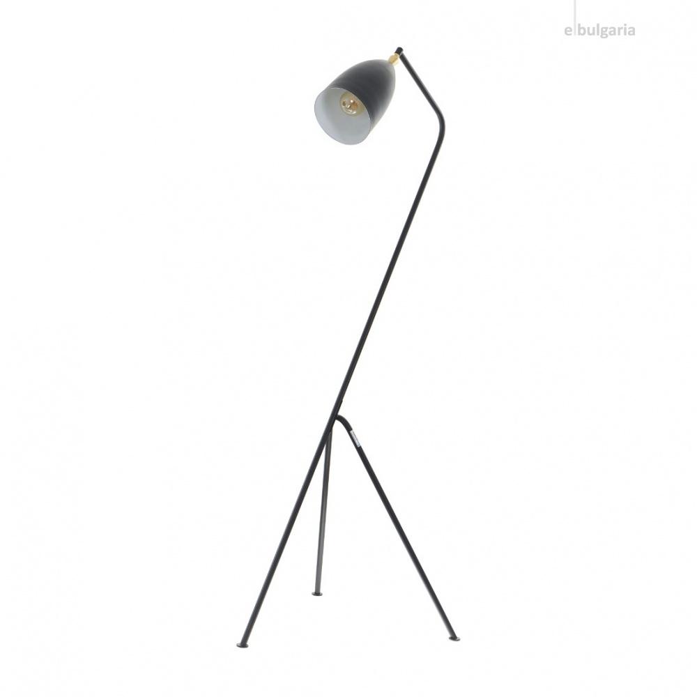 метален лампион, черен, elbulgaria, 1x40w, 2108/bk