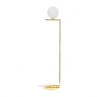 стъклен лампион, злато, elbulgaria, 1x40w, 2107/1p gd