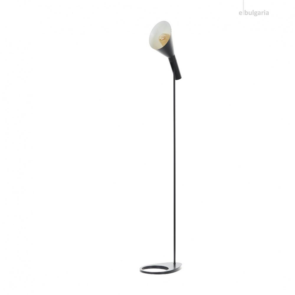 метален лампион, черен, elbulgaria, 1x40w, 2106/fl bk
