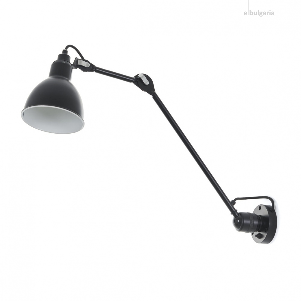 метален аплик, черен, elbulgaria, 1x40w, 2104/m