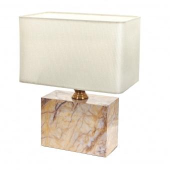 текстилна настолна лампа, бял, elbulgaria, 1x40w, 2068/m d338