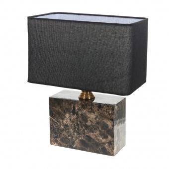 текстилна настолна лампа, черен, elbulgaria, 1x40w, 2068/m m002
