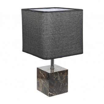 текстилна настолна лампа, черен, elbulgaria, 1x40w, 2068/s m002
