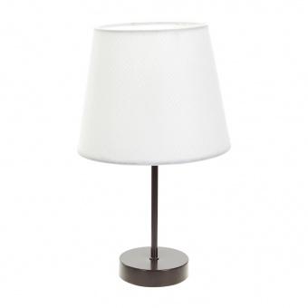 текстилна настолна лампа, бяла, elbulgaria, 1x40w, 2067/cf d337