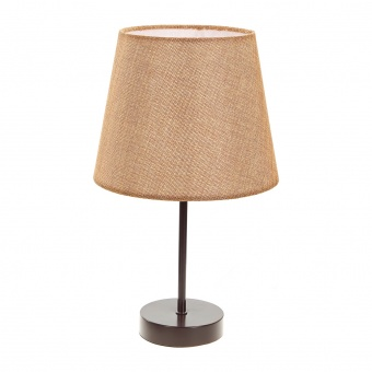 текстилна настолна лампа, крем, elbulgaria, 1x40w, 2067/cf m001