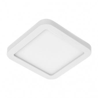 led панел за вграждане, бял, квадрат, 6w, бяла светлина, 4000K, 220V, elbulgaria, 1429/6w wh