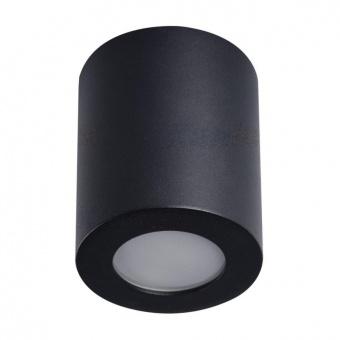 метална луна за външен монтаж, black, kanlux, sani, 1x10w, 29240