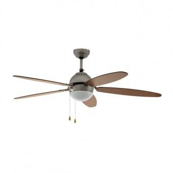 таванен вентилатор, nickel mat, eglo, susale, 1x60w, 3 степени на работа, 35042