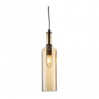 стъклен пендел, amber, nino, bottle, 1x40w, 32090123