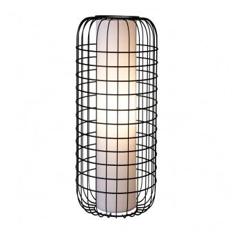 металeн лампион, black, nino, tulum, 1x40w, 41400108