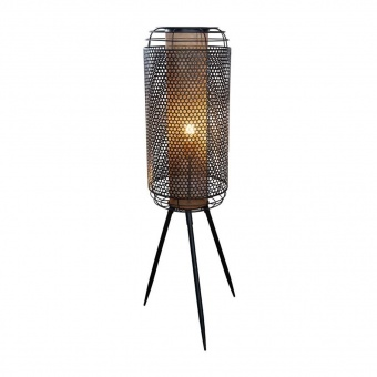 метален лампион, black, nino, denton, 1x40w, 40790145
