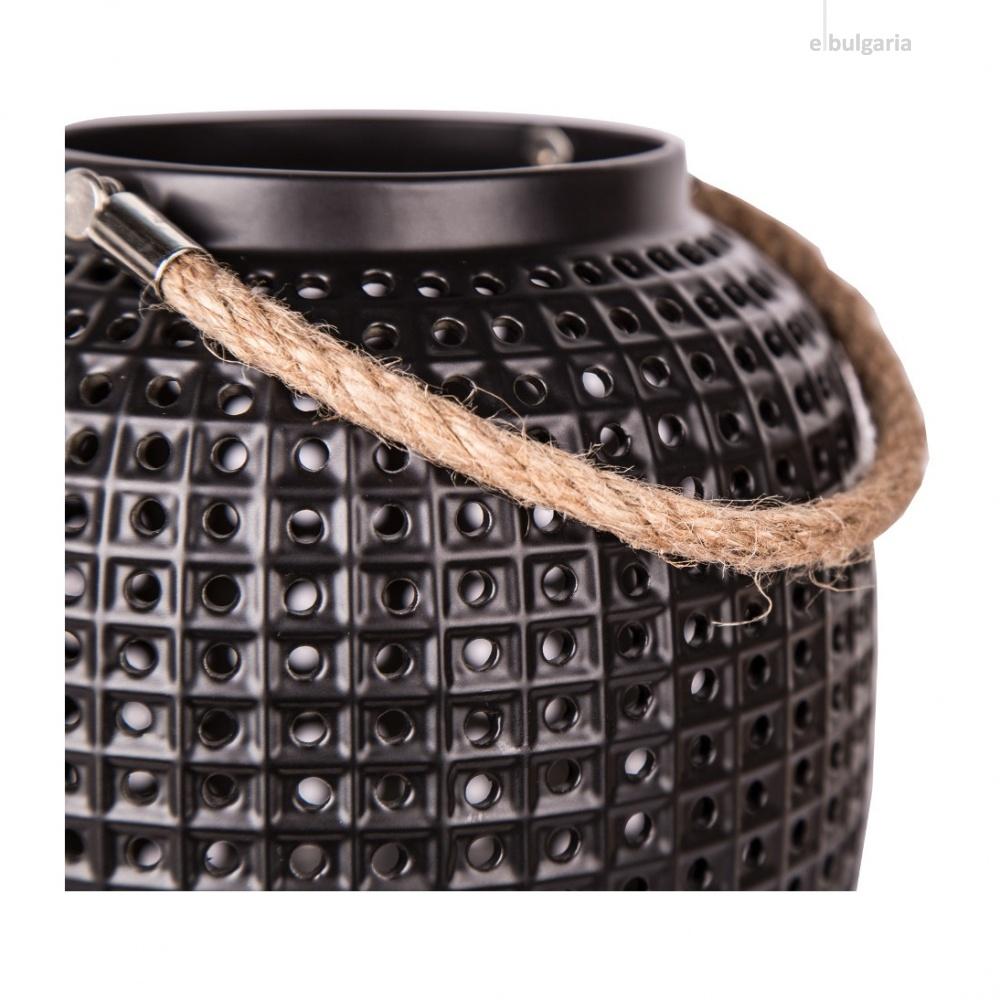 керамично градинско тяло, black, nino, may, led, 51560108