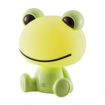 pvc настолна лампа, green, nino, frog, led 2.5w, 52040114