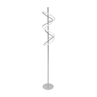 метален лампион, silver, nino, voluta, led 24w, 3000k, 2000lm, 41220144