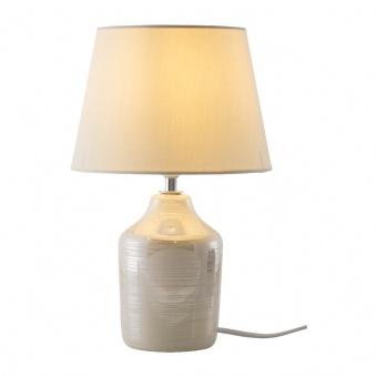 керамична настолна лампа, creme, nino, julia, 1x4ow, 50480119