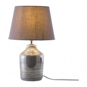 керамична настолна лампа, grey, nino, julia, 1x40w, 50480124