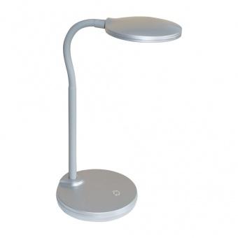 pvc работна лампа, silver, nino, carmen, led 3.2w, 3000k, 260lm, 52290102