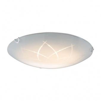 стъклен плафон, opal white, nino, tonza, led 20w, 3000k, 1900lm, 60664007