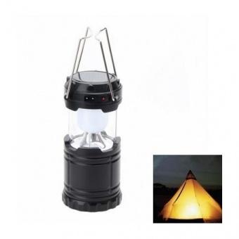 къмпинг лампа, сива, entac, 3w led, 040708