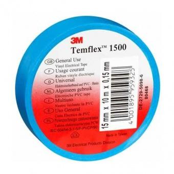 изолирбанд лента, синя, temflex, 10m, 905896