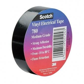 изолирбанд лента, черен, skotch, 20m, 51243