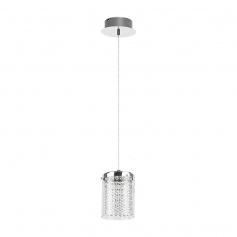 пендел, chrome/crystal, rabalux, astrella, led 6w, 4000k, 450lm, 5043