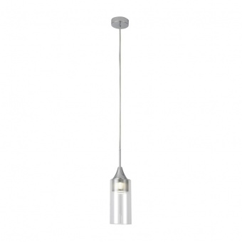 пендел, chrome/transparent, rabalux, candice, led 5w, 4000k, 400lm, 6349